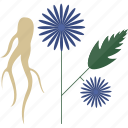 flower, food, seeds, vegetables icon
