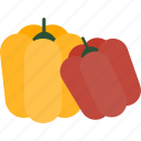 food, pepper, sweet, vegetables icon