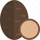 food, sheet, truffle, vegetables icon