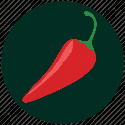 chilli, hot chilli, kitchen, pepper, red chilli, spice, vegetable icon