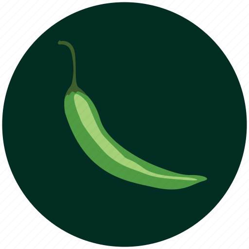 cayenne, cook, cooking, food, green chilli, kitchen, vegetable icon
