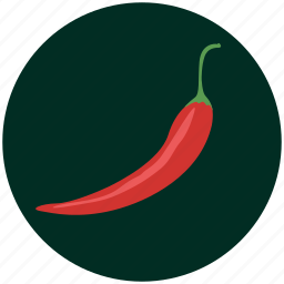 chilli, cooking, kitchen, pepper, red, restaurant, vegetable icon