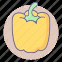 bell pepper, sweet pepper, vegetable, pepper, vegetables, capsicum icon
