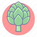 artichoke, food, healthy, vegetable, vegetables