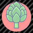 artichoke, food, healthy, vegetable, vegetables icon