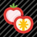 tomato, tomatoes, slice, pomodoro, food, vegetable, veggie