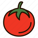 dessert, food, fruit, tomato, vegetables icon