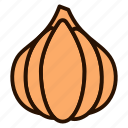 food, garlic, onion, shallot, vegetable, vegetables icon