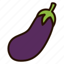cooking, eggplant, food, plant, vegetables icon