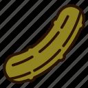 cucumber, food, pickle, salad, vegetables icon