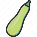 courgette, marrow, vegetable, zucchini icon
