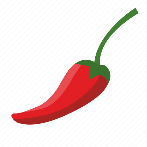 chilli, food, pepper, vegetable icon
