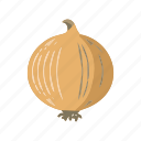 food, onions, vegetable icon