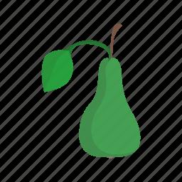 food, pear, vegetable icon