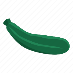 food, vegetable, zucchini icon