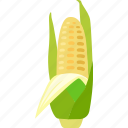 cereal, cob, corn, crop, grain, maize icon