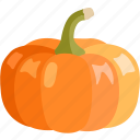 winter, halloween, squash, orange, vegetable, pumpkin icon