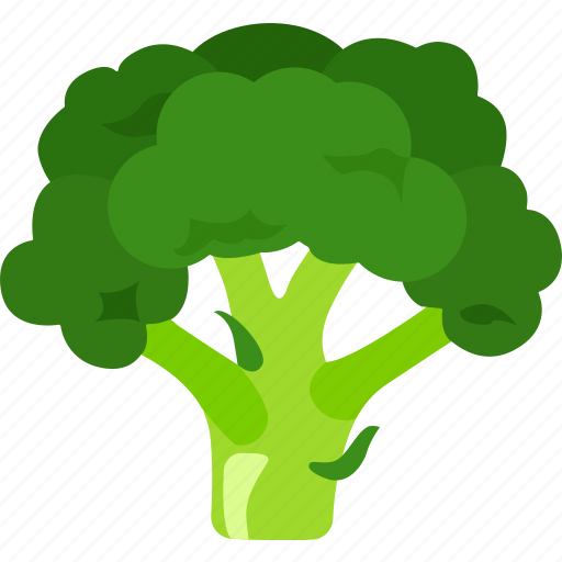 broccoli, calabrese, cauliflower, head, sprout, sprouting icon