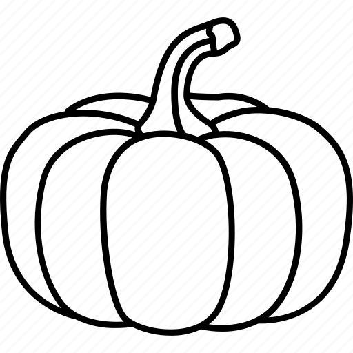 halloween, orange, pumpkin, squash, vegetable, winter icon