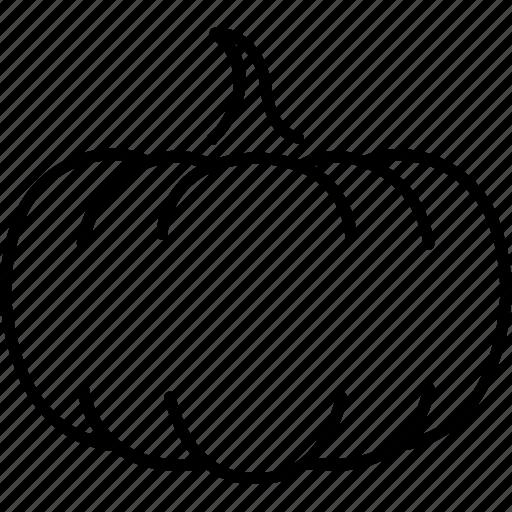 food, pumpkin, vegan, vegetables icon