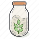 beverage, bottle, drink, milk, oat, oatmilk icon