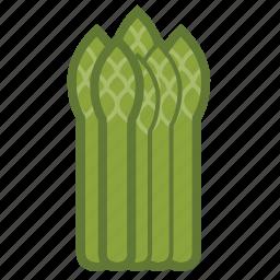 asparagus, vegetable icon