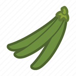 beans, pea, salad, vegetable icon