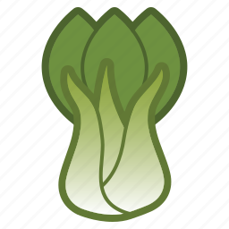 bok, choy, salad, vegetable icon