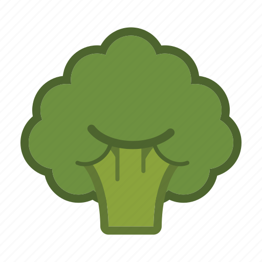 broccoli, salad, vegetable icon