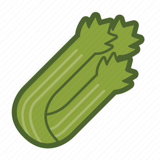celery, salad, stalk, vegetable icon