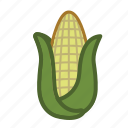 cob, corn, vegetable icon