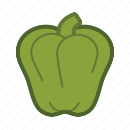 pepper, salad, vegetable icon