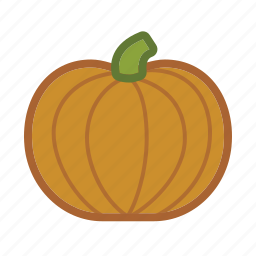 autumn, gourd, halloween, pumpkin, squash, vegetable icon
