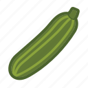 gourd, squash, vegetable, zucchini icon