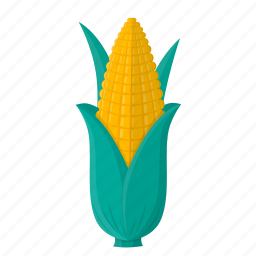 cooking, corn, food, kitchen, meal, plant, vegetable icon