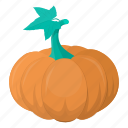 food, halloween, kitchen, meal, plant, pumpkin, vegetable icon