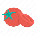 cooking, food, kitchen, meal, plant, tomato, vegetable icon