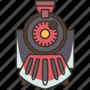 train, railroad, rails, transportation, station