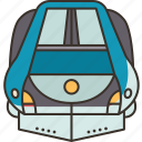 train, speed, bullet, railway, transport