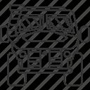 amphibious, vehicle, automobile, transport, military