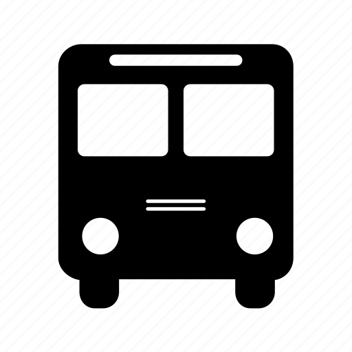 bus, public transport, shuttle, traffic, transport, transportation icon