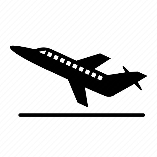 air, aircraft, airoplane, airplane, plain, transport, transportation icon