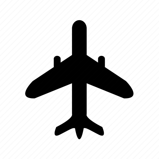 aeroplane, air, aircraft, plain, transport, transportation, travel icon