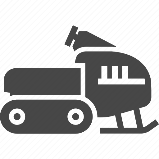Snowmobile, vehicle, winter icon - Download on Iconfinder
