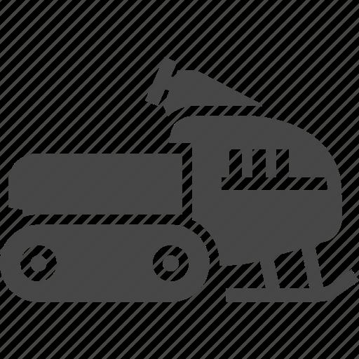 snowmobile, vehicle, winter icon