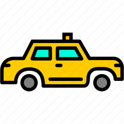 cab, car, carrige, taxi, travel, van, vehicle icon