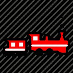 caravantrack, convoy, maglavetrain, train, vehicle icon