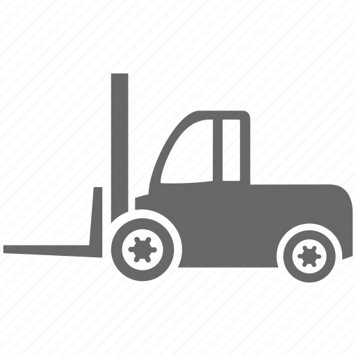 building, construction, forklift, logistics, truck, vehicle, work icon