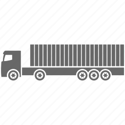 container, delivery, logistics, shipping, transport, transportation, truck icon