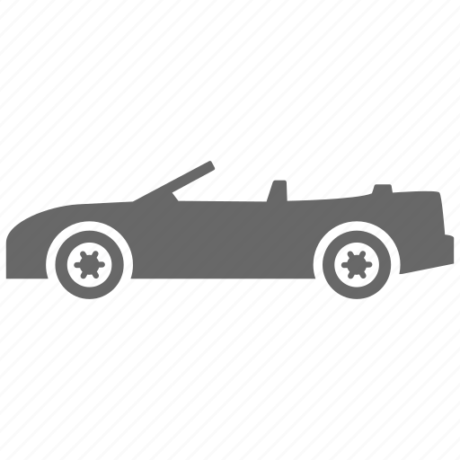 automobile, car, convertible, transport, vehicle icon